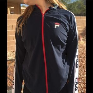 Fils Sport Navy and Red  Jacket